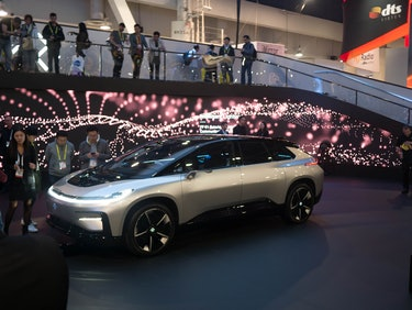 Faraday future car