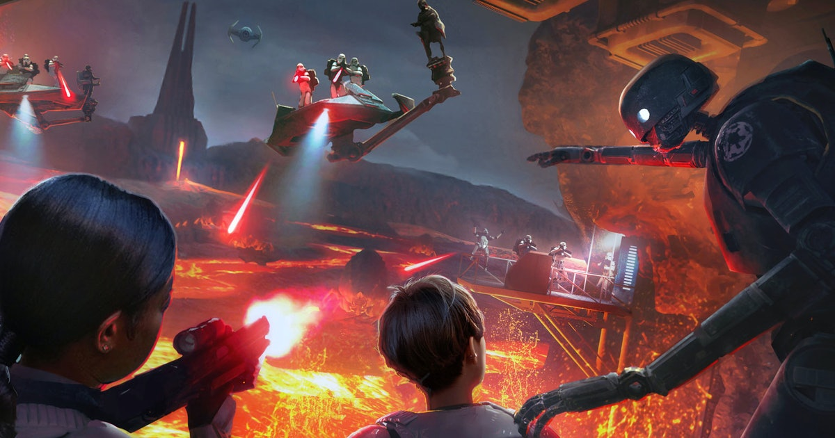 Star Wars Vr Experience Makes Darth Vader S Mustafar Castle Important Again