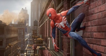 spider-man ps4 video game livestream gameplay open world