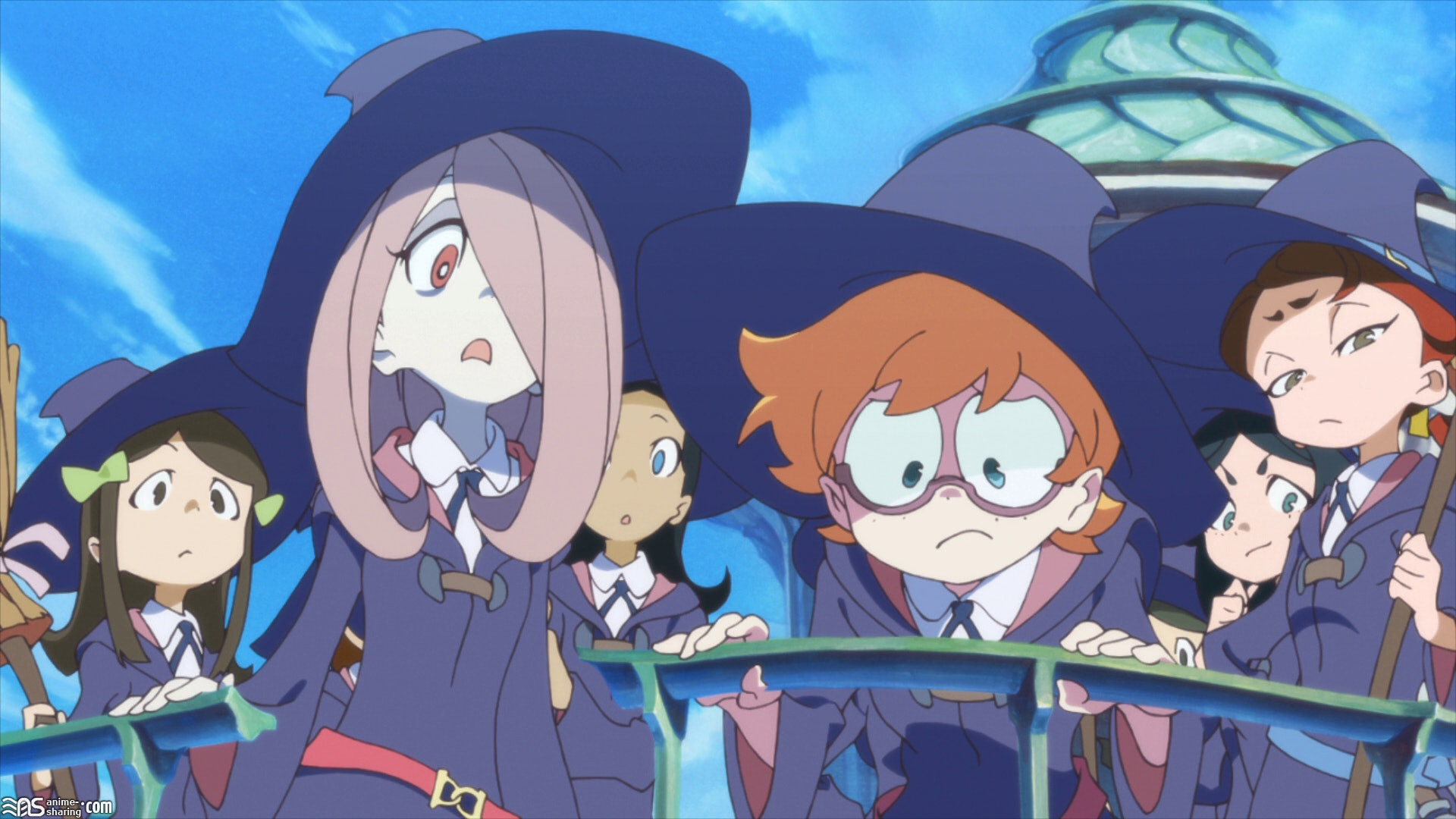 Netflix S Little Witch Academia Anime Is An All Girls Hogwarts