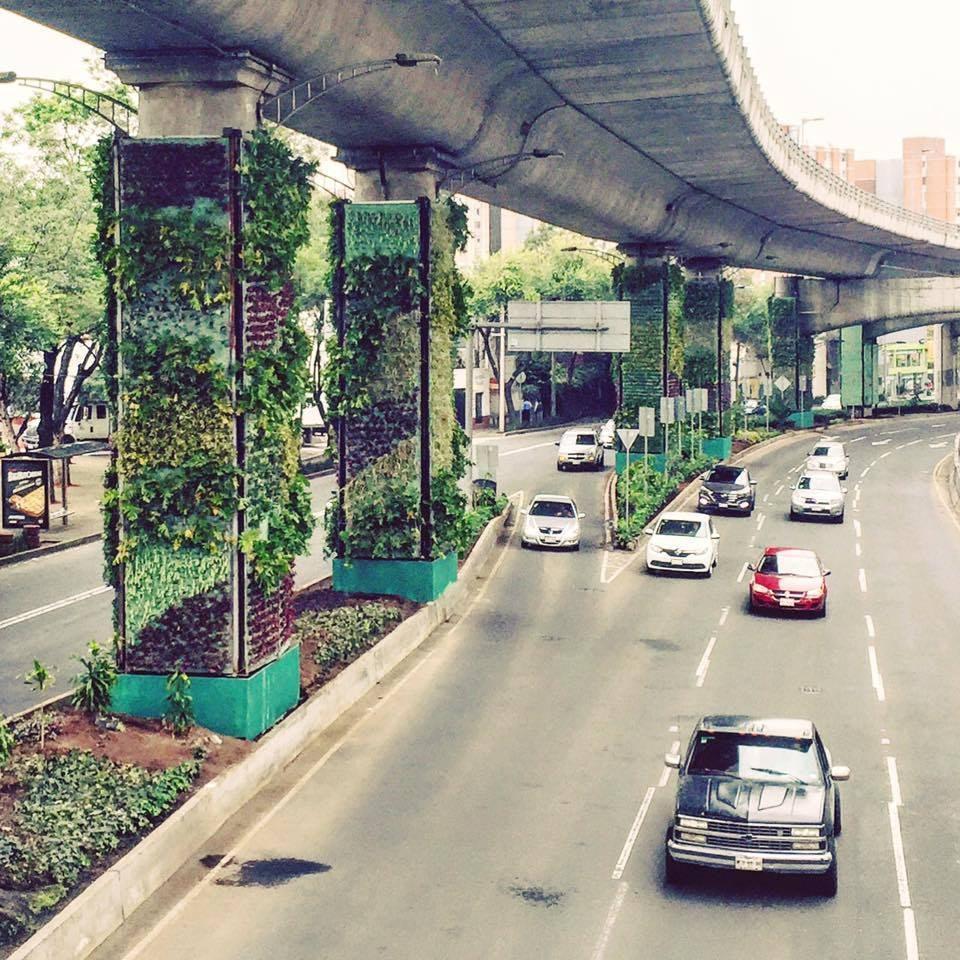 via verde column