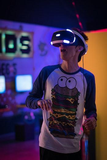 gaming virtual reality