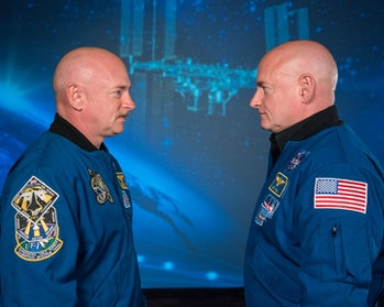 NASA twin experiment