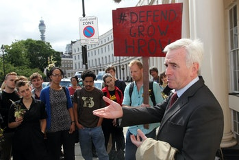 Shadow chancellor John McDonnell.