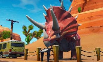 fortnite dinosaur