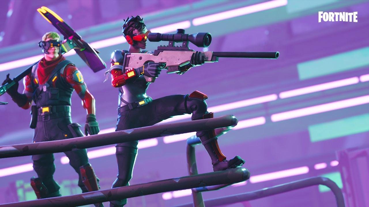 Fortnite sniper rifle