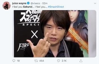 Super Smash Bros Masahiro Sakura