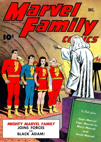 Shazam Family Movie
