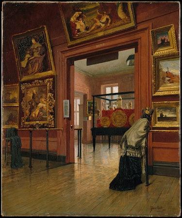 met museum, painting