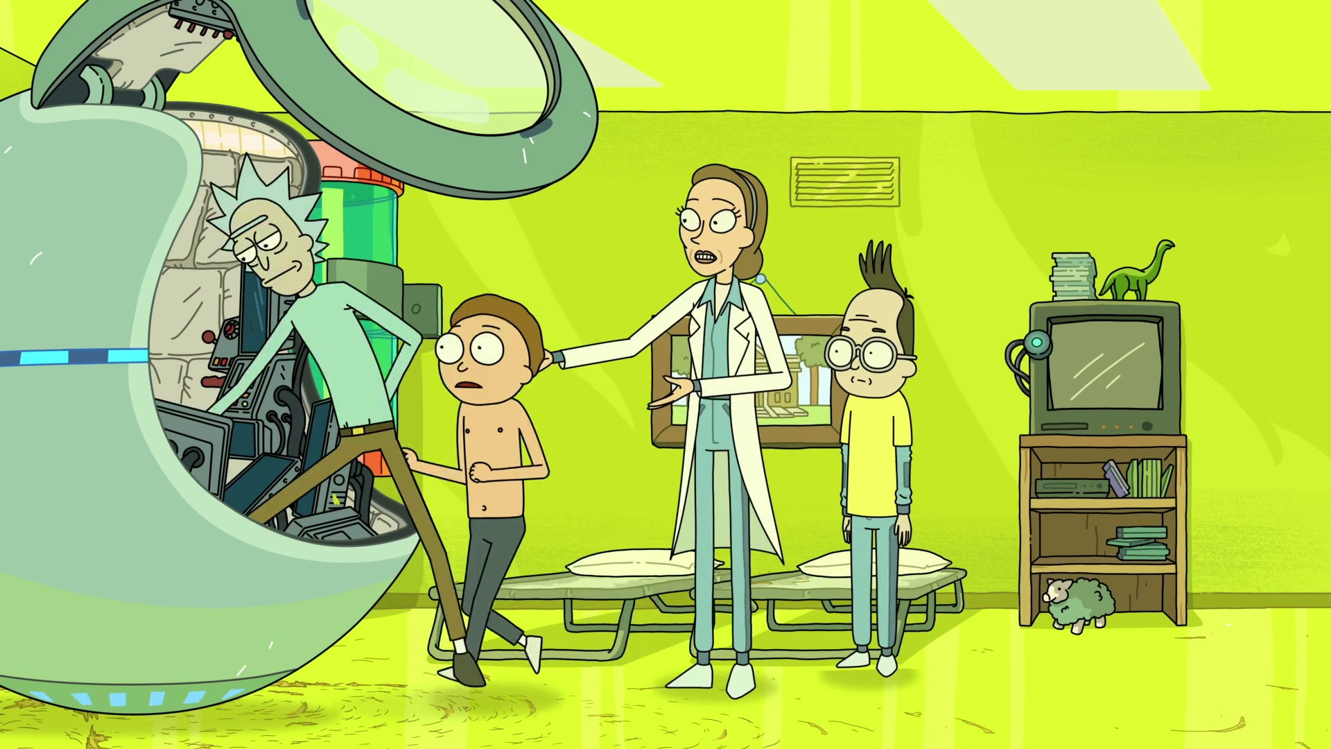 rick and morty menagerie