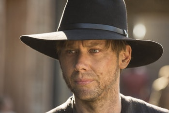 White-Hat William went on to become the Black Hat Man in Black by the end of 'Westworld' Season 1.