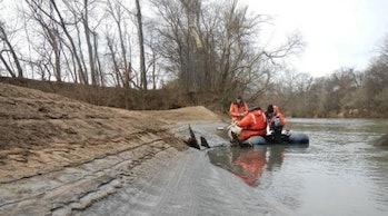 coal ash ponds leaking