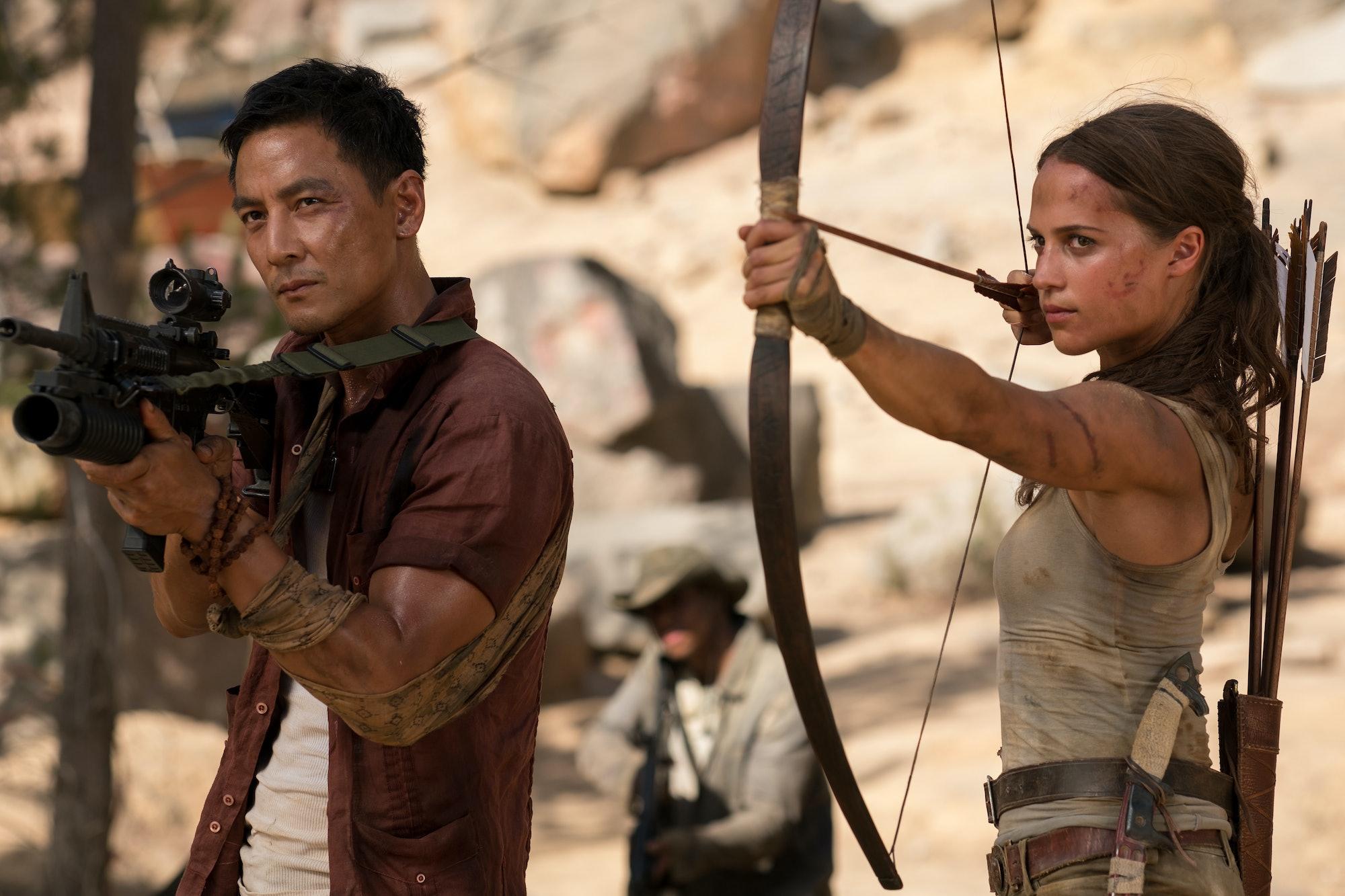 Tomb Raider Lu Ren Daniel Wu