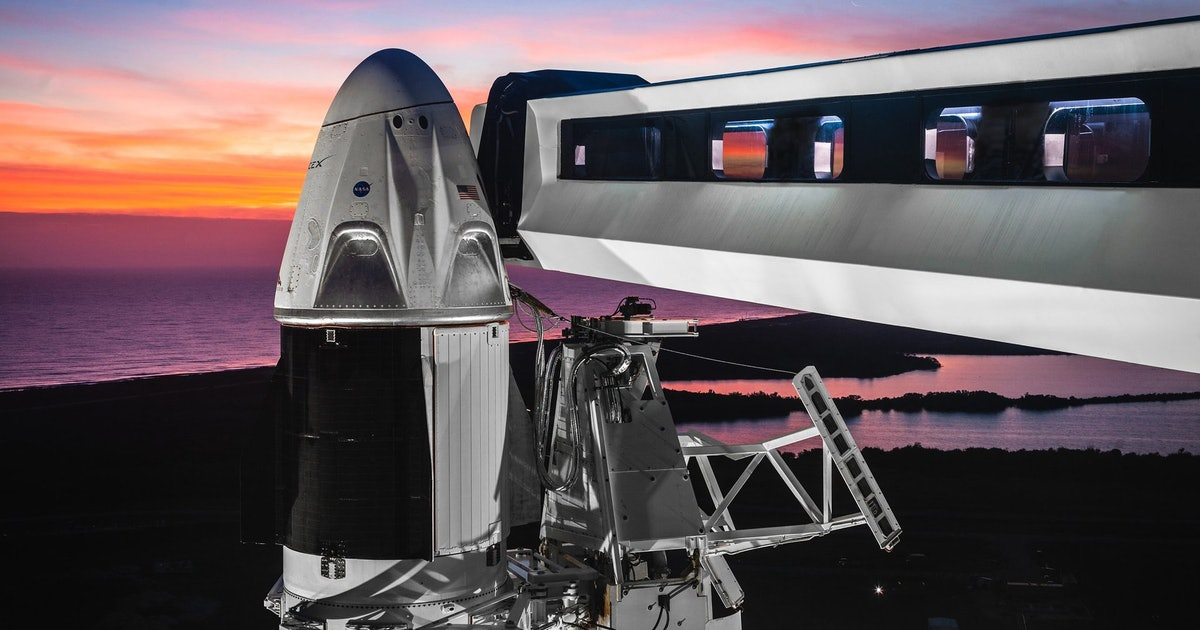 SpaceX Crew Dragon: here's what the spacesuit will look like