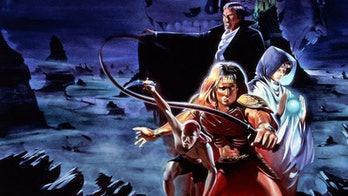 'Castlevania III' promotional art.
