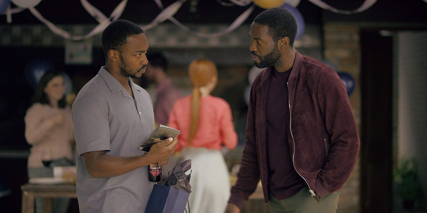 Anthony Mackie and Yahya Abdul-Mateen II star in 'Black Mirror' Season 5.