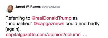 Ramos supporting Trump.