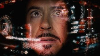 Iron Man's heads-up display