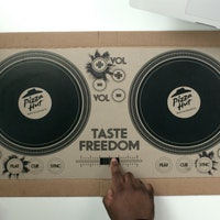Pizza Hut Releases Pizza Box Turntables You Can DJ With