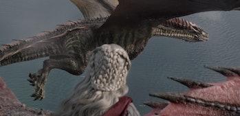 Game of Thrones Rhaegal death