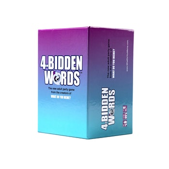 WHAT DO YOU MEME? 4-Bidden Words Adult Party Game