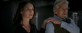 Hope Van Dyne and Hank Pym in 'Ant-Man and the Wasp'.