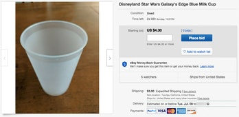 Star Wars Galaxy's Edge eBay
