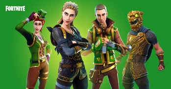 Fortnite St. Patrick's Day