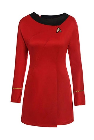 Classic Star Trek Dress Costume Adult Duty Women Uniform