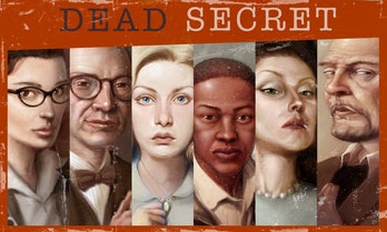 Robot Invader's got a whole bunch of characters in 'Dead Secret'.
