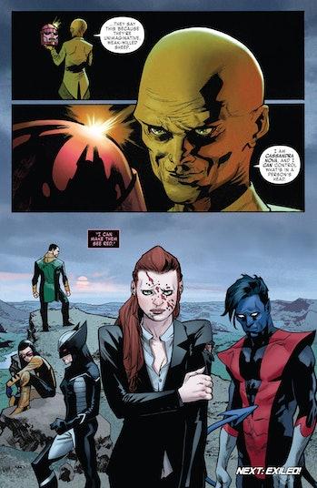 X-Men Dark Phoenix Cassandra Nova