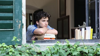 Elio Perlman (Timothée Chalamet) plays a restless 17-year-old boy on the brink of adulthood in 'Call...