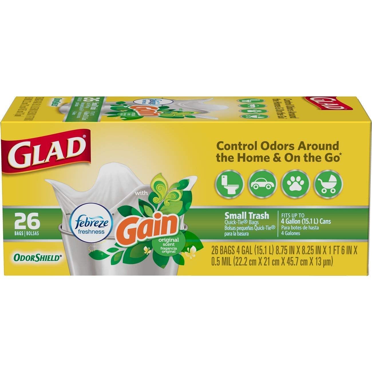 Glad Odor-Shield Trash Bags