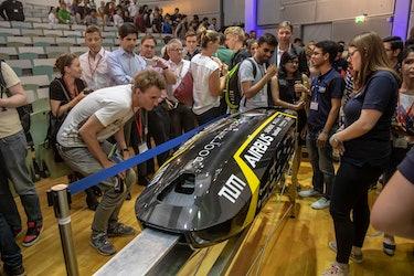 TUM Hyperloop's pod design.