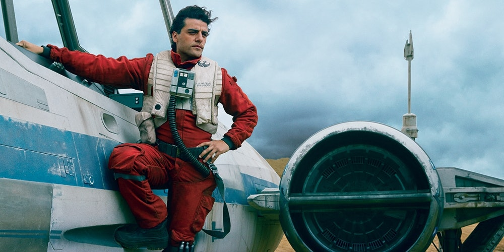 Poe's probably the best pilot the galaxy has ever seen, and what he pulls off in 'The Last Jedi' is really impressive, even for his standards.