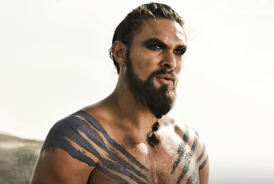Khal Drogo: the morally neutral warlord.