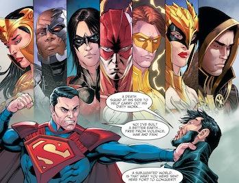 DC Comics Injustice Gods Among Us Batman Superman Flash Wonder Woman Cyborg Justice League