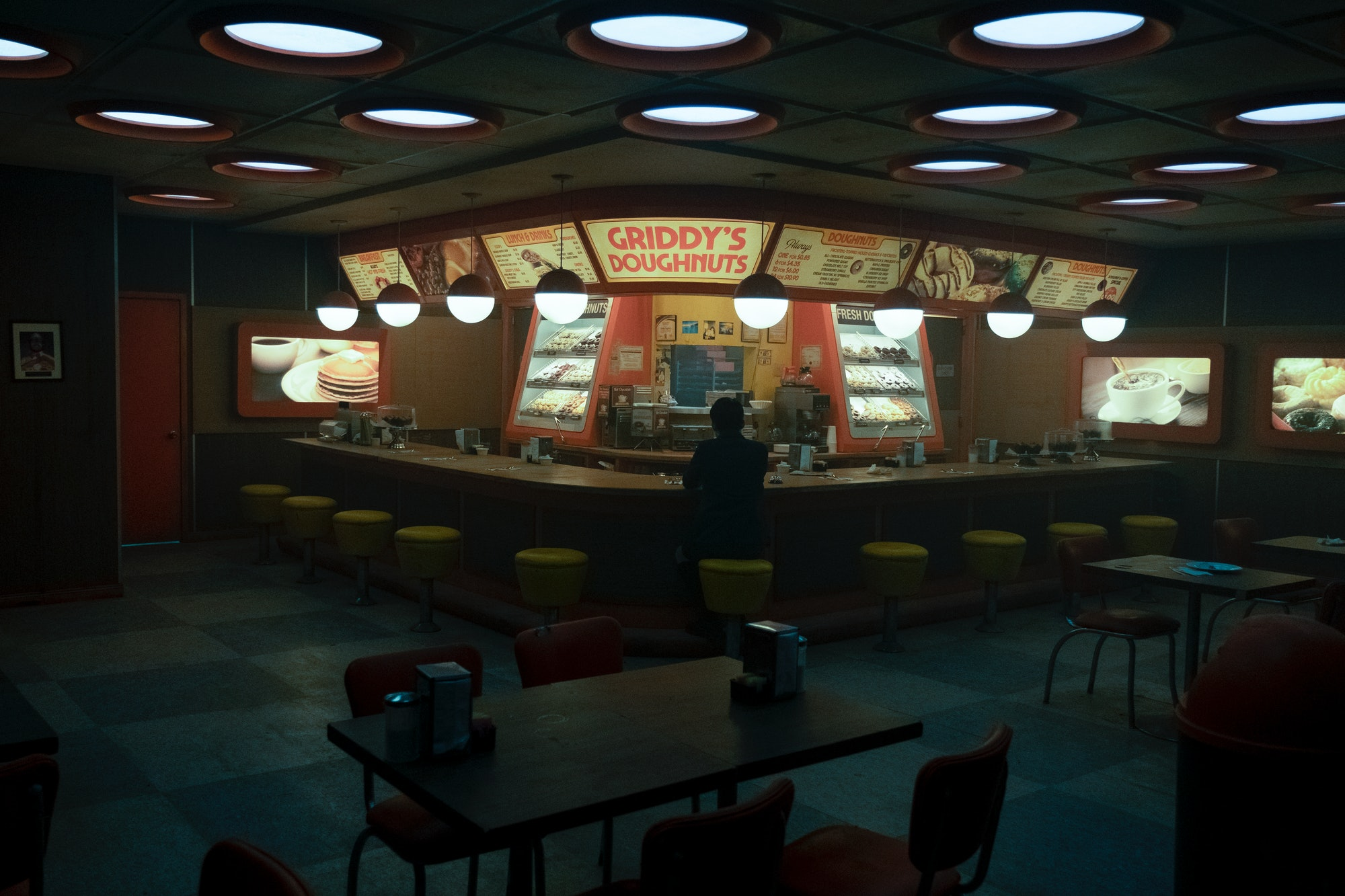 umbrella academy griddy's donuts
