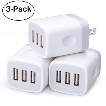 3 Multi-Port Wall Charger