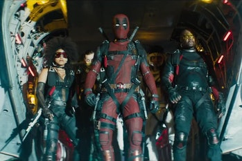 The X-Force right before their big scene.