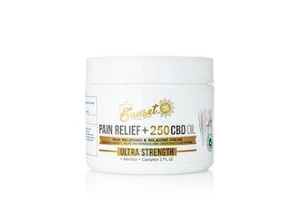 Sunset CBD Pain Relief Cream