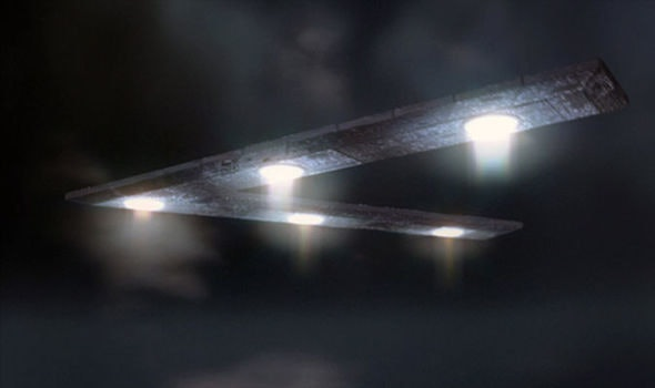 The Mutual UFO Network (MUFON) rendered this CGI imagining of what the crafts could look like.