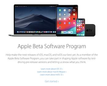 ios 12 beta download apple