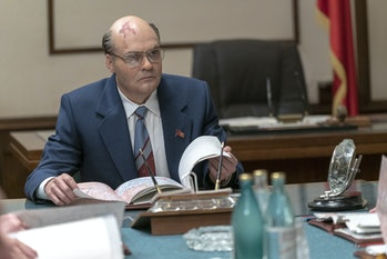 David Dencik asMichail Gorbatchev in 'Chernobyl' on HBO.
