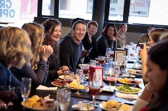 Mark Zuckerberg military spouses