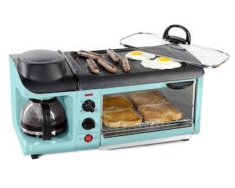 Nostalgia Retro 3-in-1 Family Size Breakfast Station