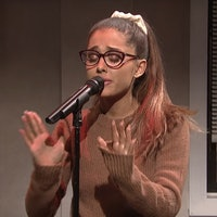 Ariana Grande on 'SNL' Saves TIDAL with Rihanna and Shakira Impressions