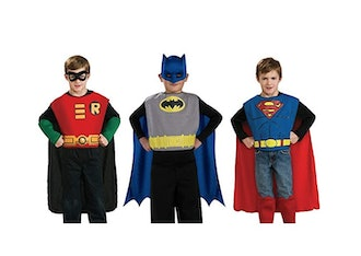 DC Comics Action Trio Child Costume Kit