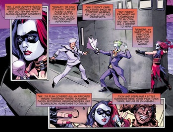 DC Injustice Harley Quinn Ground Zero Comic