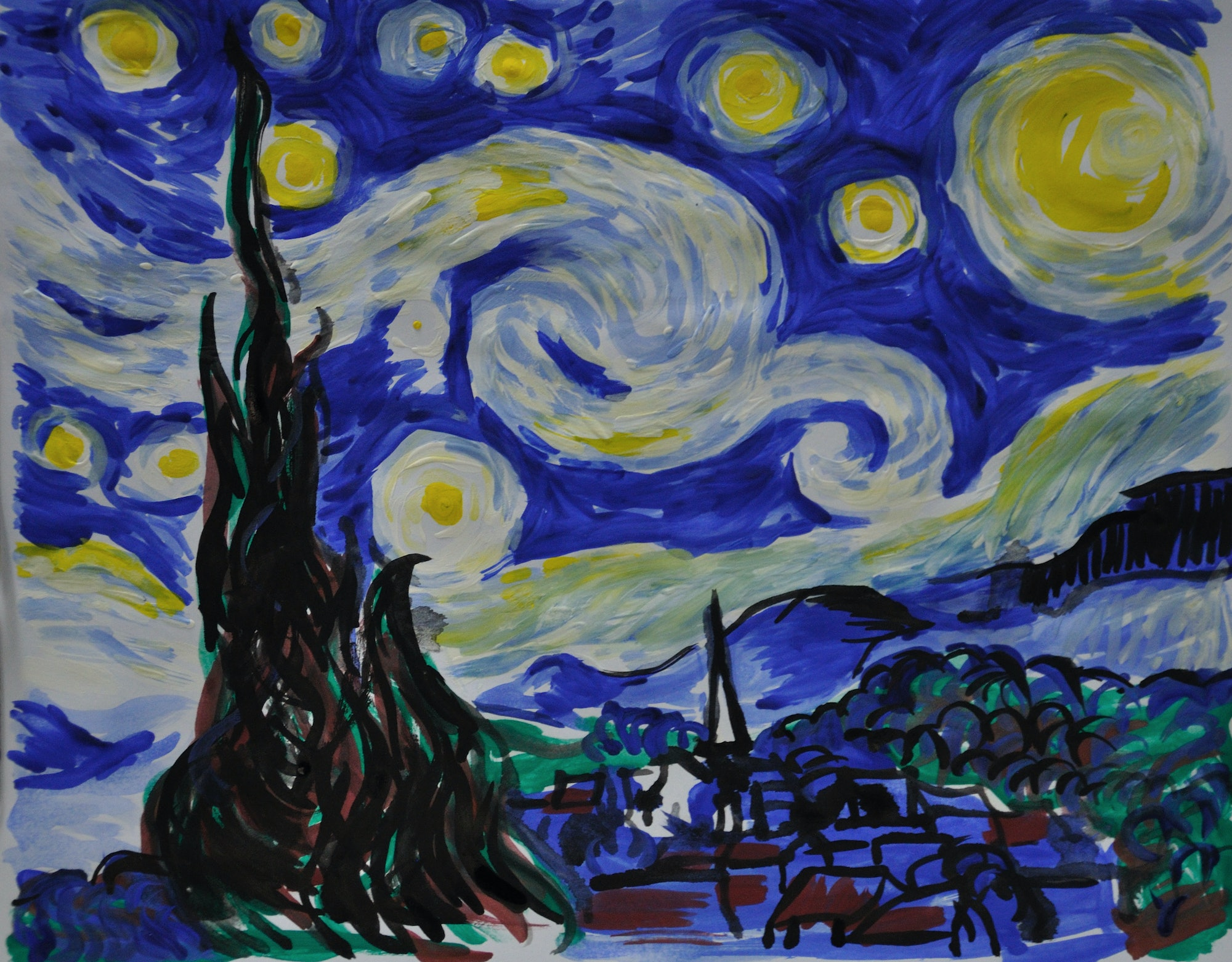The Starry Night Robotic Art Competition A.I. Paint